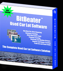 used car lot software